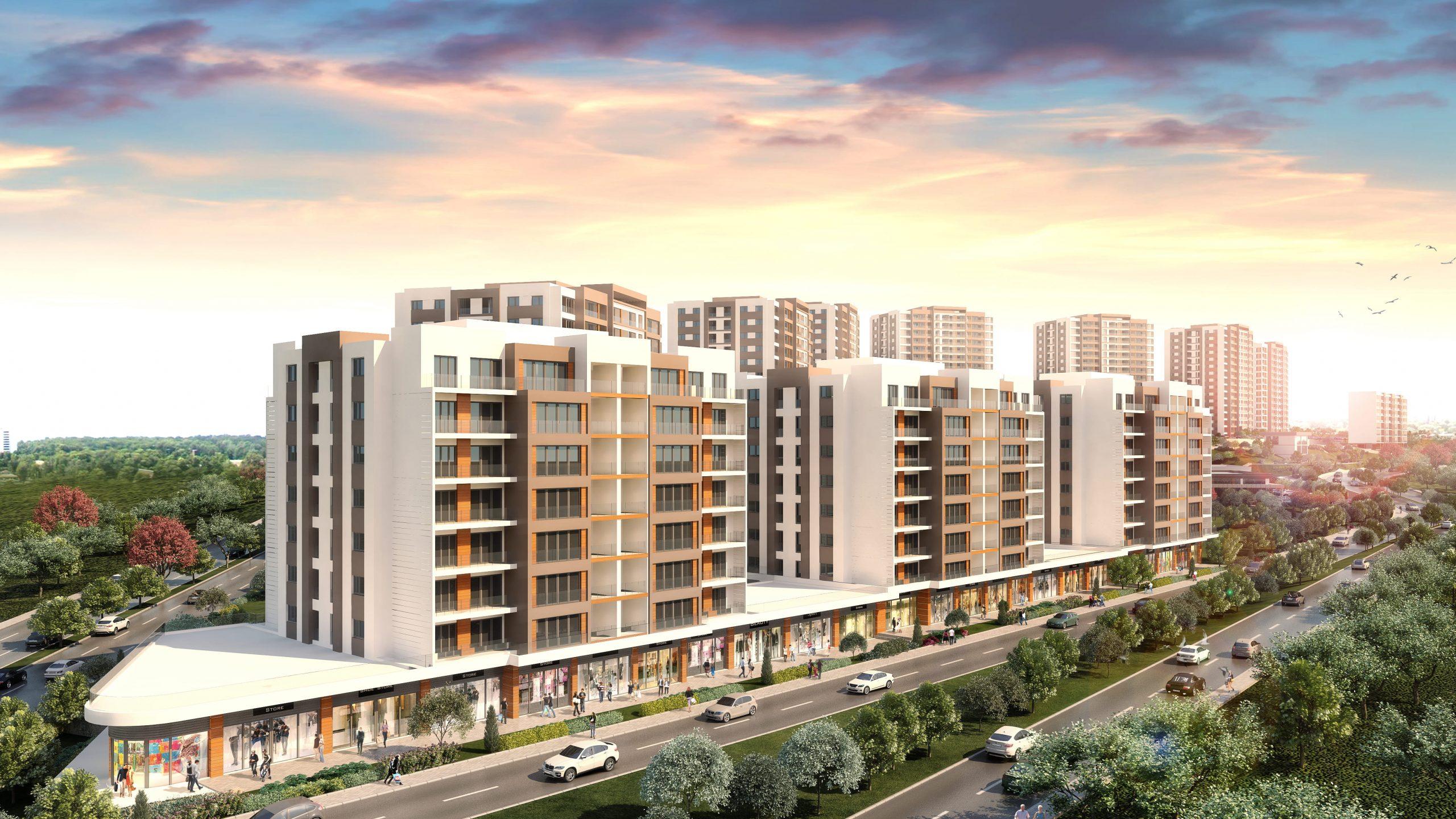 مشاريع سكنية في اسطنبول